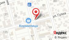 Гостиница Амра на карте