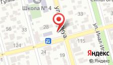Семейный отель Homestay on Ardzinba 114 на карте