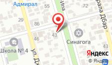 Апартаменты Инал-Ипа 16 на карте