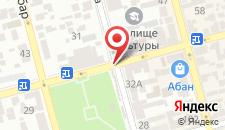 Мини-отель На Воронова на карте