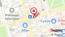 Отель Диоскурия на карте