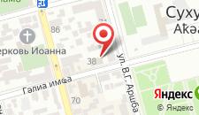 Отель Гостевой Замок на карте