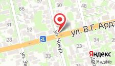 Гостевой дом На Чочуа 47 на карте