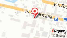 Гостевой дом На Акиртава 22 на карте