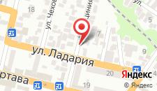 Отель Дом 2 на карте