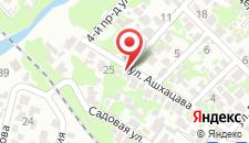 Гостевой дом На Ашхацава 29 на карте