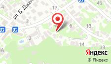 Гостевой дом Руфина на карте