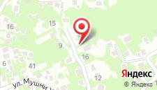 Гостевой дом Mishelini на карте