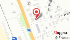 Апартаменты На Услара 3 на карте