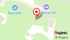 Гостиница Романов Лес на карте