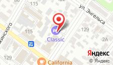 Гостиница Classic на карте