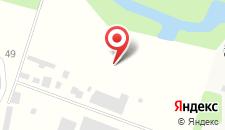 База отдыха Малинки на карте