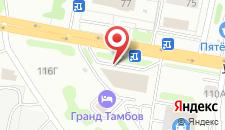 Гостиница Гранд-Тамбов на карте
