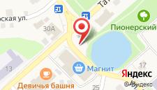 Отель Касимов на карте