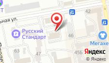 Гостиница ЛЮКС на карте