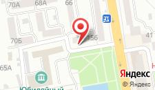 Гостиница Державинская на карте