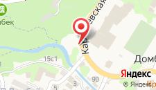 Гостиница Бомонд на карте