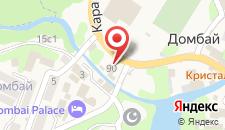 Отель Орион на карте