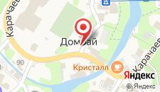 Гостиница Вершина на карте