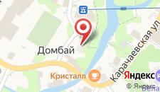 Отель Адель на карте