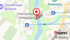 Гостиница Меридиан на карте