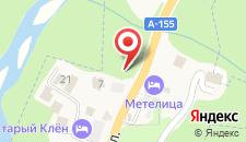 Отель Эрцог на карте