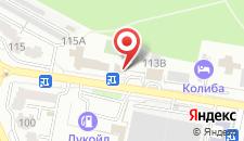 Отель Виктория на карте