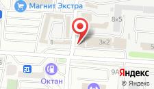 Гостиница Кентавр на карте