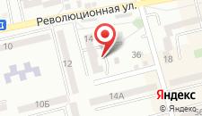 Апартаменты Революционная 14 на карте