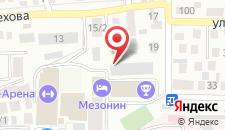 Хостел Ставрополь на карте