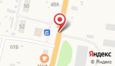 Отель ТГК Колесо на карте
