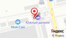 Гостиница-Хостел Южный дворик на карте