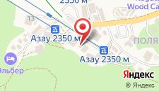 Гостиница Sky Азау на карте