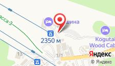 Отель Вершина на карте