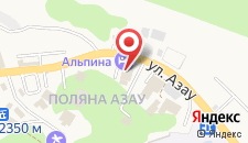 Гостиница Альпина на карте