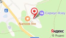 Отель Хижина Логово на карте