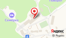 Гостиница Чегет на карте
