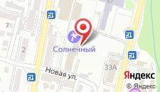 Санаторий Солнечный на карте