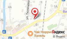 Гостиница Чинара на карте