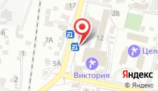 Гостиница Аюк на карте