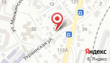 Отель Вершинa 1240 на карте