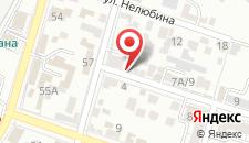 Отель ПАН интер на карте