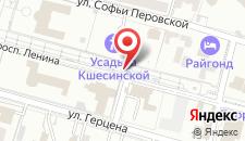 Санаторий Плаза Кисловодск на карте