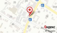 Отель Благодать на карте
