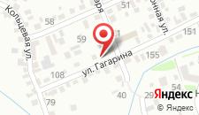 Отель У Реки на карте