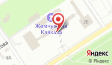 Санаторий Жемчужина Кавказа на карте
