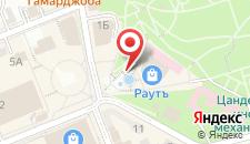 Отель Театральная на карте