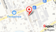 Отель Sun на карте