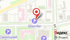 Санаторий Шахтер на карте