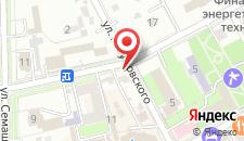 Пансионат Дача генерала Николаева на карте